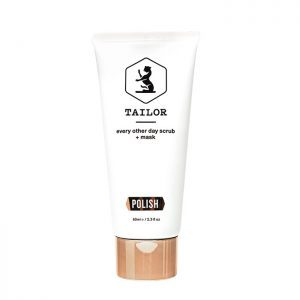 Tailor skincare polish exfoliator