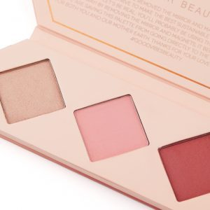 aether cheek palette ruby blush highlighter