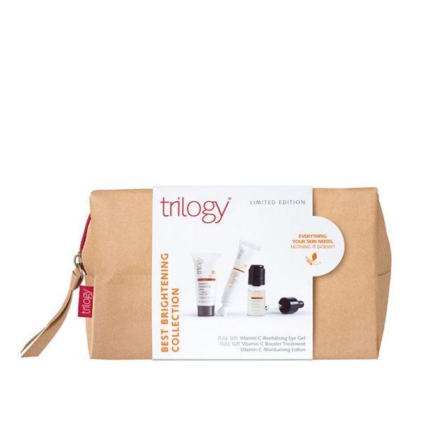 trilogy best brightening collection gift set vitamin C