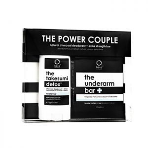 Kaia Naturals Power Couple Charcoal Deodorant and underarm bar