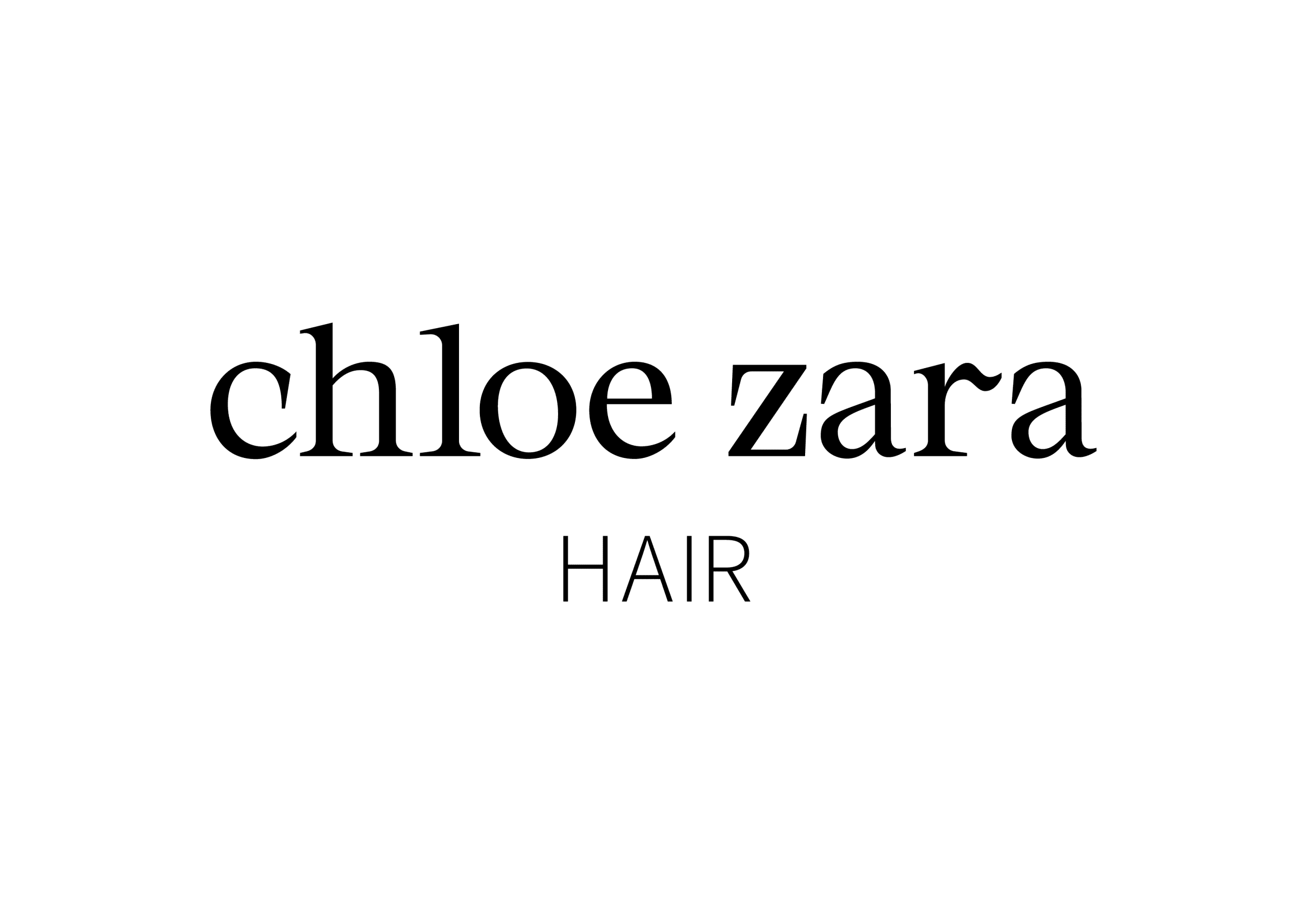 chloezarahair
